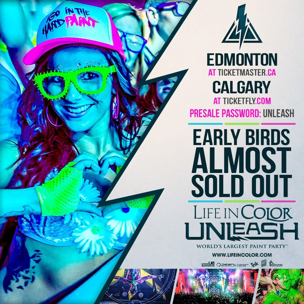 Life In Color - Unleashed
